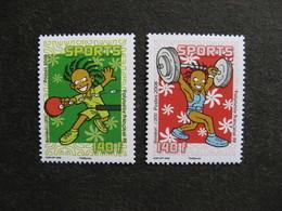 Polynésie: TB Paire N° 840 Et N° 841, Neufs XX. - Neufs