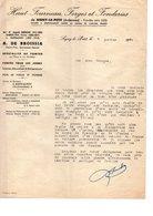 ARDENNES SIGNY-LE-PETIT Près AUVILLERS-LES-FORGES MAUBERT-FONTAINE BARACHIN DE-BROISSIA - Historical Documents