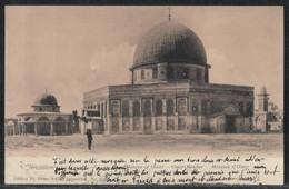 Jerusalem Islam El Aksa Mosque Omar Palestine Israel Postcard - Muslim 1920's - Palestine