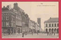 Ath - La Maison Communale Et La Rue De Gand ( Voir Verso ) - Ath