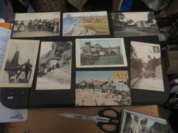 LOT DE CARTES POSTALES ANCIENNES TOUTES PHOTOGRAPHIEES ETRANGERES - Cartes Postales