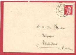 Y&T N°710B SELZ    Vers WEISSENBURG 1943 2 SCANS - Deutschland