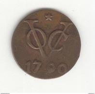 1 Duit VOC Indes Néérlandaises / Nederland Indie 1790 - TTB+ - Inde