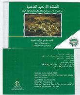 Jordan 2000-Booklet X 5: Birds,animals,flowers 3 Panes,as Scan -High Values -complMNH- RARE-Red.Pri. SKRILL PAY ONLY - Jordan