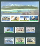 PAPUA NEW GUINEA -  MNH/*** LUXE - 2007 - ENDANGERED MARINE TURTLES - Yv 1133-1138 1139-1142 -  Lot 18244 - Papouasie-Nouvelle-Guinée