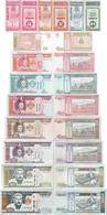 Mongolia Set 11 Pcs 10+20+50 Mongo+1-1000 Tugrik Pick 49-67 UNC Random Years - Mongolia