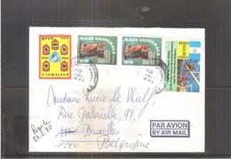 Lettre Du Guatemala Vers La Belgique - 1980 (à Voir) - Guatemala