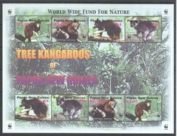 U701 PAPUA NEW GUINEA WWF FAUNA ANIMALS TREE KANGAROOS 1KB MNH - W.W.F.