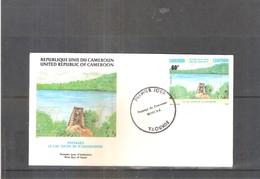 FDC Du Cameroun - Le Lac Tizon De N'gaoundere (à Voir) - Cameroun (1960-...)