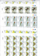 Jordan 2010 Insectes Set Of 10 Stamps Incl.Butt.in Sheet Of 20 MNH- Complete-2 Scans- Red. Pr. SKRILL PAY ONLY-High Val. - Jordan
