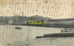 Dépt. 29, Le Pont Sur L'Aber-Benoit Reliant Lannalis à Trégonou, 1911 - France