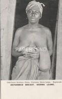 Sierra Leone Deformed Breast Topless   Sl150 - Sierra Leone