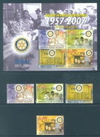 PAPUA NEW GUINEA -  MNH/** - 2007 -ROTARY - Yv 1169-1172 BLOC 39 -  Lot 18246 - Papouasie-Nouvelle-Guinée