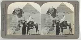 Photo Stéréoscopique - The Sphinx, Gizeh, Egypte - Photos Stéréoscopiques
