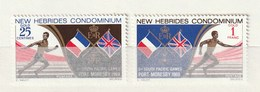 New Hebrides 1969 133-34Sports And GamesNH 2v - Leyenda Inglesa