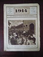 1914 Illustré N° 92 Chine - Camp Prisonnier Français - Chasse Baleine - Suède - Auguste Donnay - Livres, BD, Revues