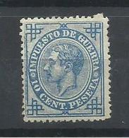 ESPAÑA EDIFIL 184  MNH  ** - 1875-1882 Reino: Alfonso XII