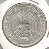 Monnaie, AUTRICHE , Republik OSTERREICH , 100 Schilling , Zwanzig Jahre Staatsvertrag 1975, 2 Scans, Frais Fr 2.95 E - Autriche