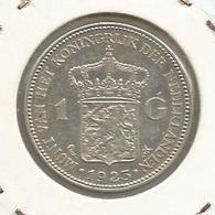 Monnaie, Pays Bas, NEDERLAND , 1923 , 1 Gulden, Wilhelmina Koningin Der Nederlanden , Argent - 1 Gulden