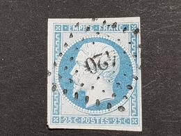 Napoléon III N° 15  Avec Oblitération Losange Petits Chiffres 420  TTB - 1853-1860 Napoleon III