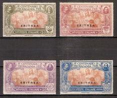 """(Fb).Colonie.Eritrea.1923.""""Propaganda Fide"""".Serie Completa Di 4 Val Nuovi,g. Integra,MNH (34-16) - Erythrée"""