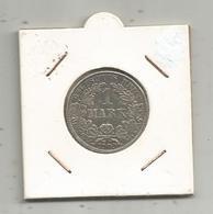 Monnaie, Allemagne ,1mark ,1909 A , Argent, 4 Scans - 1 Mark