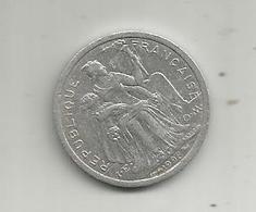 Monnaie , POLYNESIE FRANCAISE , 1998 , 1 F , 2 Scans - French Polynesia