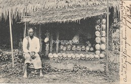 Nigeria Old Calabar  Native & His Jaja Post Used Duala Kamerun 1907 Good P/m  Ng222 - Nigeria