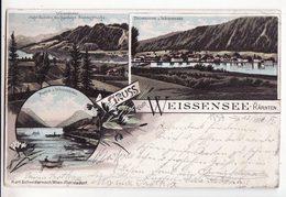 Autriche   Grüss Vom WEISSENSEE   TECHENDORF - Weissensee