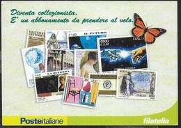 POSTE ITALIANE - PROMOZIONE PER ABBONAMENTO FILATELICO- NUOVA - Poste & Postini