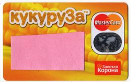 Russia  MasterCard   Card Kukuruza - Cartes De Crédit (expiration Min. 10 Ans)
