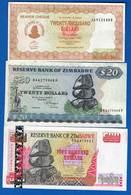Zimbabwe  9  Billets - Zimbabwe