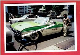 PHOTOGRAPHIE 1995 VOITURE CABRIOLET DECAPOTABLE - Cars