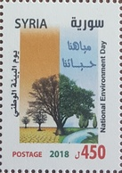 SYRIA NEW 2018 MNH Stamp - Environment Day - Water Is Our Life - Tree - Syria