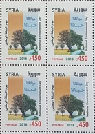 SYRIA NEW 2018 MNH Stamp - Environment Day - Water Is Our Life - Tree - Blk/4 - Syria