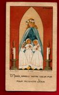 Image Pieuse Holy Card Communion Anne-Marie Laboirie Bordeaux 11-04-1951 - Ed Bouasse Lebel G.6886 - Ambossrert - Devotion Images