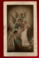 Image Pieuse Holy Card Communion Liliane Dominguez 31-05-1953 - Ed Morel 2692 -  Anges - Images Religieuses