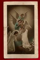 Image Pieuse Holy Card Communion Liliane Dominguez 31-05-1953 - Ed Morel 2692 -  Anges - Devotion Images