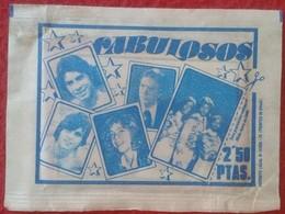 SOBRE DE CROMOS SIN ABRIR FABULOSOS DE RUIZ ROMERO FINALES DE LOS AÑOS 70 APROX. VER FOTO/S, CROMO ACTORS SINGERS....... - Documentos Antiguos