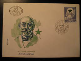 YUGOSLAVIA YOUGOSLAVIE 1988 Godina Esperanta Zamenhof Esperanto Cancel Cover Fdc - Esperanto