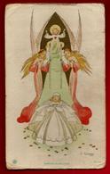 Image Pieuse Holy Card Communion Michèle Ballet Saint Bruno 8-06-1952 - Ed GBB GC 102 Illustrateur Gouppy - Devotion Images