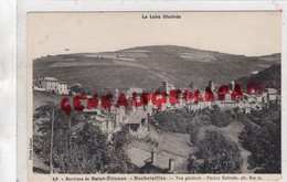 42 - ROCHETAILLEE- ENVIRONS DE SAINT ETIENNE- VUE GENERALE STATION ESTIVALE - Rochetaillee