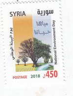 Syria New Issue 2018,Nat Environment Day 1 V.complete Set MNH ,High Value - SKRILL PAYMENT ONLY - Syria