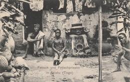 German Togo  AKLAKU   Fetisch Und Fetisch Priester Post Used 1910 Tog28 - Togo