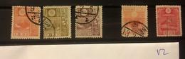 V 2 Japan Collection High CV - Unused Stamps