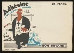 Buvard - Colle Blanche ADHESINE - Buvards, Protège-cahiers Illustrés