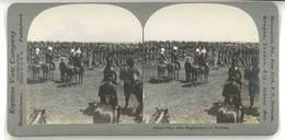 Photo Stéréoscopique - The 48th Highlanders Of Toronto ( Armée ) - Photos Stéréoscopiques