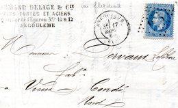 N° 29A Type I Variété De Planchage (voir Filet Droit)090 - 1863-1870 Napoleon III With Laurels