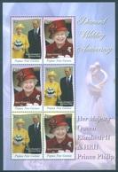 PAPUA NEW GUINEA -  MNH/** - 2007 - DIAMOND WEDDING ELIZABETH II - Yv BLOC 37 -  Lot 18250 - Papouasie-Nouvelle-Guinée