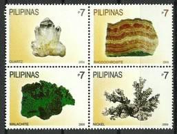 Philippines 2009 Mi 4210-4213 MNH ( ZS8 PLPvie4210-4213dav149A ) - Minéraux